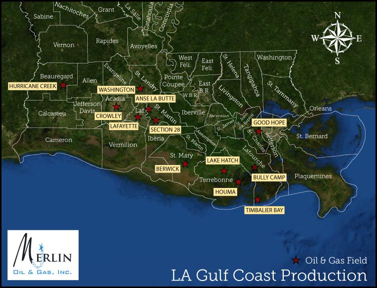 LA Gulf Coast Production
